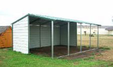 Loafing shed kit