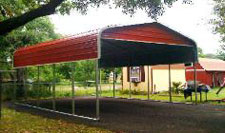 Metal carport kit colors