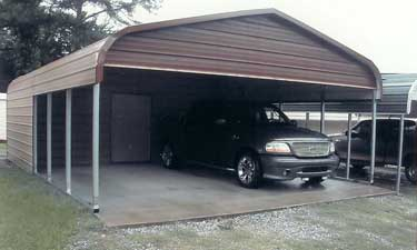 Carport and Storage