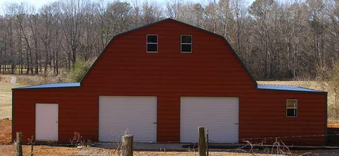 Pole barn kits joy studio design gallery best design for Gambrel roof metal building