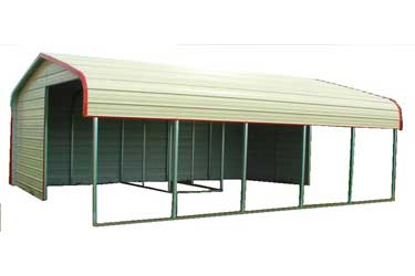Metal Livestock Shelter / Loafing Shed Kit