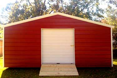 RV and auto storage metal building