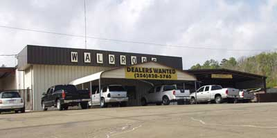 Waldrop Metal Buildings manufacturing plant